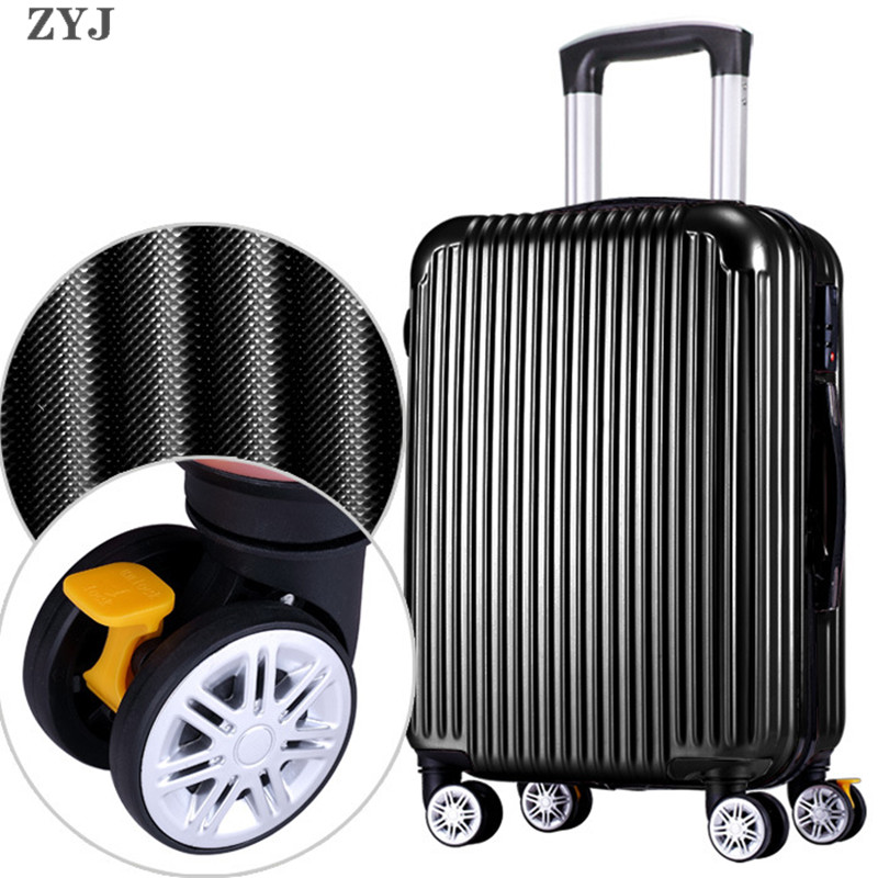 ZYJ Men Women Travel Trolley Luggages Alloy Business Rolling Airplane Suitcase Luggage Spinner Wheels 20 24 28 InchZYJ Men Women Travel Trolley Luggages Alloy Business Rolling Airplane Suitcase Luggage Spinner Wheels 20 24 28 Inch