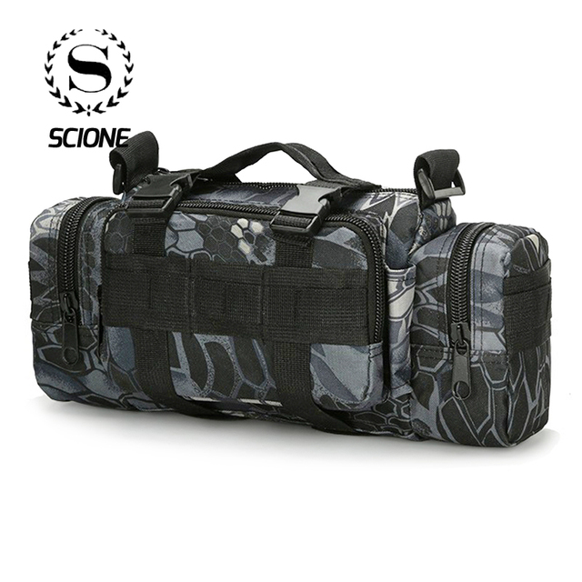 High Quality Oxford Chest Bag For Men Women Camouflage Waterproof Molle Waist Packs Shoulder Bags Military Tactics Crossbody