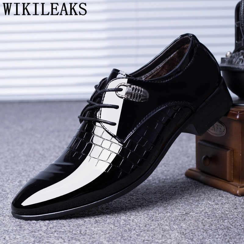 أحذية بتصميم تمساح أحذية رجالي فستان رسمي للزفاف أحذية رجالية كالزادو هومبر هيرين شوينن أكسفورد هومبر