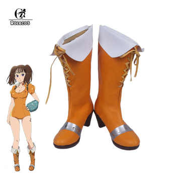 ROLECOS Japanese Anime Seven Deadly Sins Cosplay Shoes Diane Cosplay Shoes Women Cosplay Costume Made Shoes - DISCOUNT ITEM  50% OFF All Category
