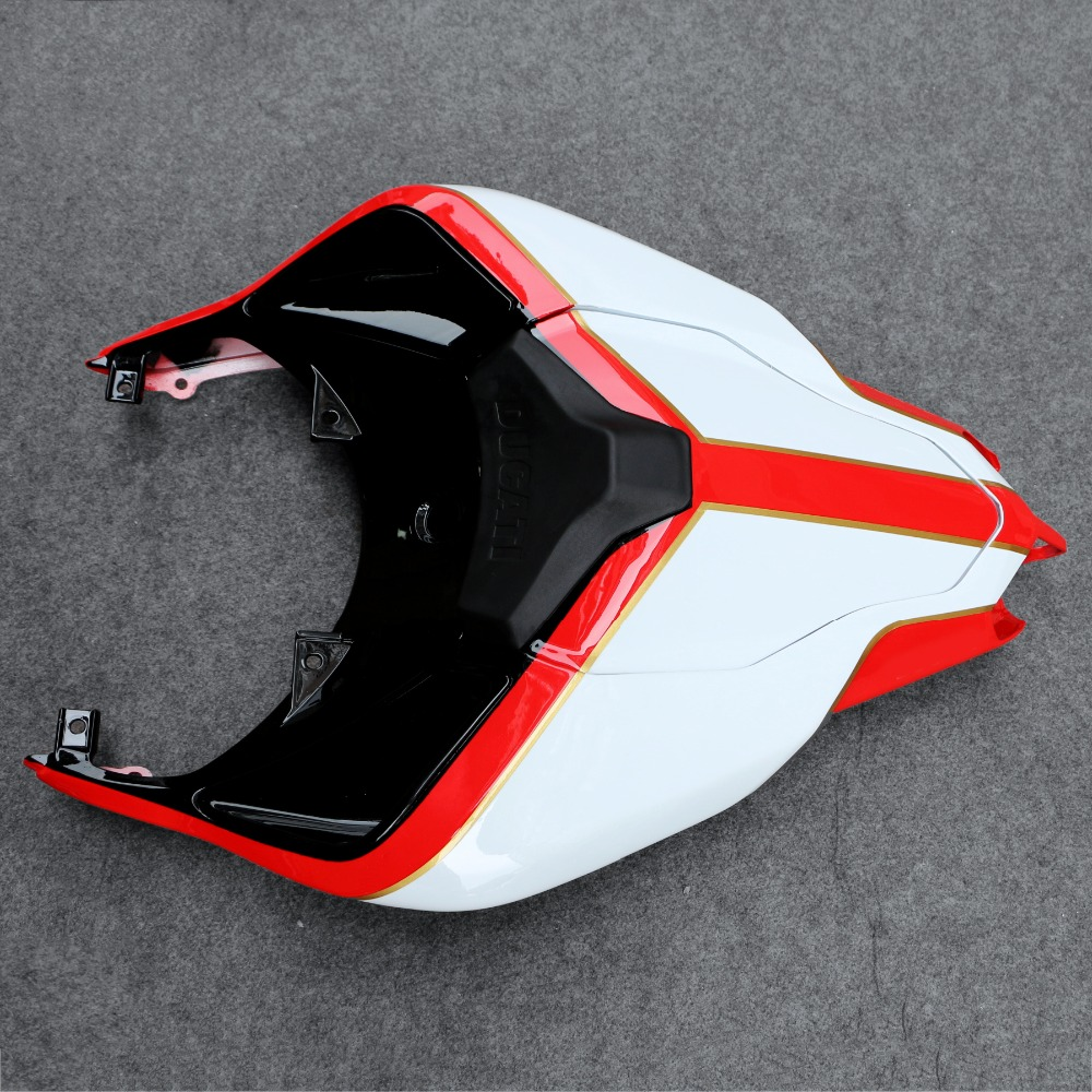 Bodywork Rear Fairing Hugger Tail seat Cowl Fit For <font><b>Ducati</b></font> 848 <font><b>1098</b></font> 1198 07-12 08 09 10 11 Motorcycle image