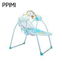Primi Intelligent Electric Baby Cradle Rocking Bed Sleeping Crib High Landscape