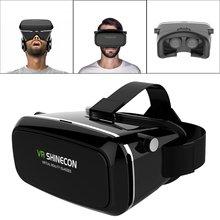"""ร้อนSHINECONความจริงเสมือนที่สมจริงแว่นตาชุดหูฟังสำหรับ3Dวิดีโอภาพยนตร์เกม3dเข้ากันได้กับที่สุด3.5 """"-6.0″โทรศัพท์สมาร์ท"""