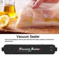 homeKitchen Portable Vacuum Sealer Food Preservation Packing Saver Machine