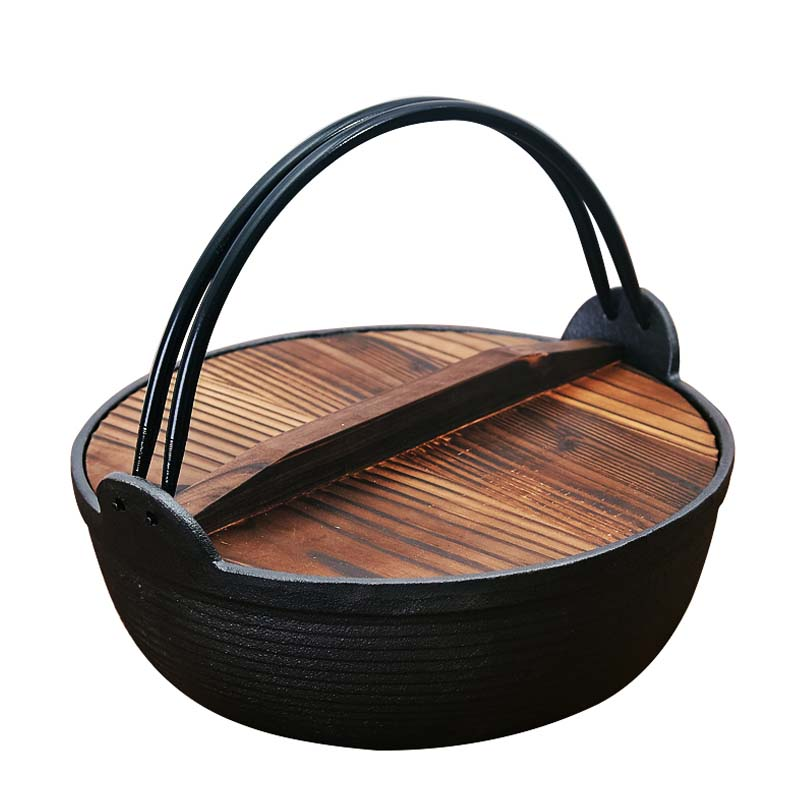 Japanese Cast Iron Non-Stick Pot