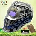 Хороший сварочный шлем со стеклом и перчатками  шлифовальная Автоматическая Затемняющая Сварочная маска  TIG MIG солнечная батарея  завод KD01 (...