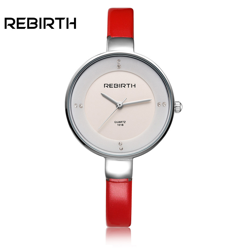 2017 Jaunie modes sieviešu pulksteņi Ultra šauras ādas siksnas kvarca pulkstenis Sieviešu kleita ūdensnecaurlaidīgai pulksteņai Relogio Feminino