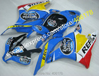 Hot Sales,09 10 11 12 Customized Injection Fairing For Honda F5 CBR600RR 2009 2012 Repsol Motorcycle Fairing (Injection molding)