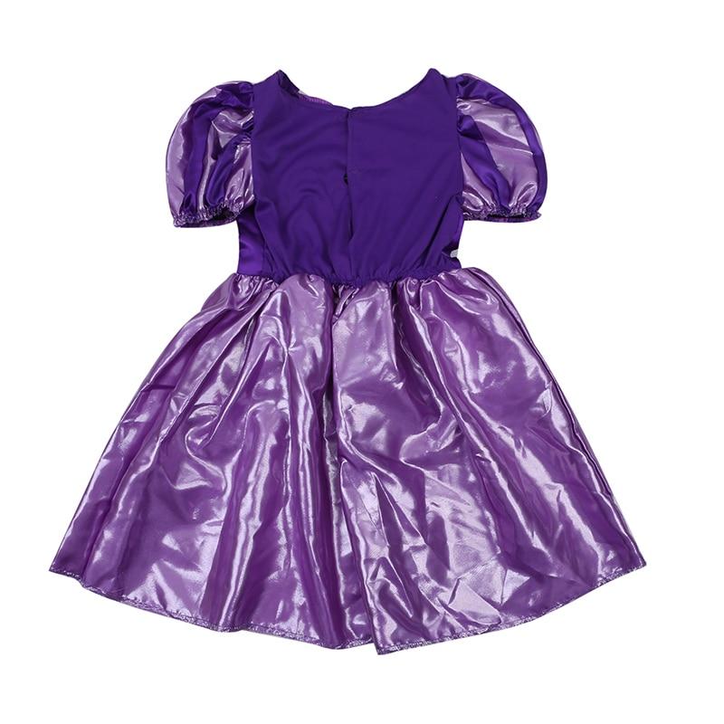 Meisjes Sparkly Prinses Rapunzel Kostuum Met Karakter Cameo - Carnavalskostuums - Foto 3