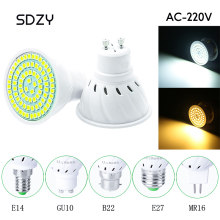 GU10/MR16/B22/E14/E27 220V 5W/7W/9W Spotlight Bulb Corn Lamp SMD 2835 Spot Light 230V 240V Energy Saving Bombillas led(China)