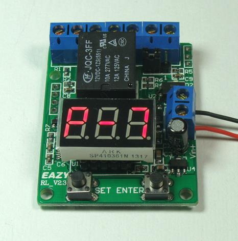 Free Shipping! 1pc  Voltage switch / signal timing start / trigger timer / Car 12V delay relay / VT2.3