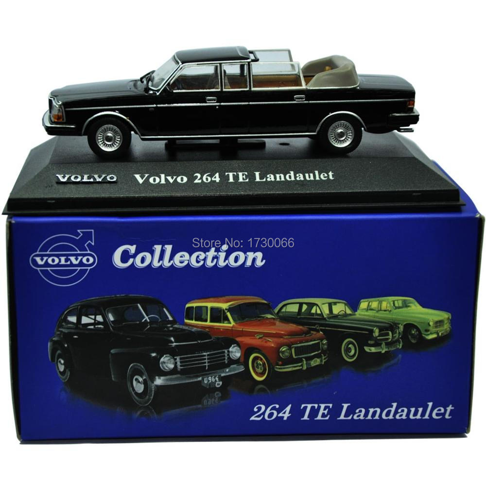 COLLECTION THE ATLAS MODEL CAR TOYS 1 43 EEITIONS VOLVO 264 TE Landaulet STATIC ALLOY s60