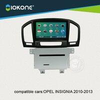 IOKONE Car DVD Player For Opel Insignia 2010 2011 2012 2013 With Radio Bluetooth GPS IPod