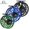 Maxcatch Fly Fishing Reel 5 6WT Fly Reel Machined Aluminium Micro Adjusting Drag Fly Fishing Reel