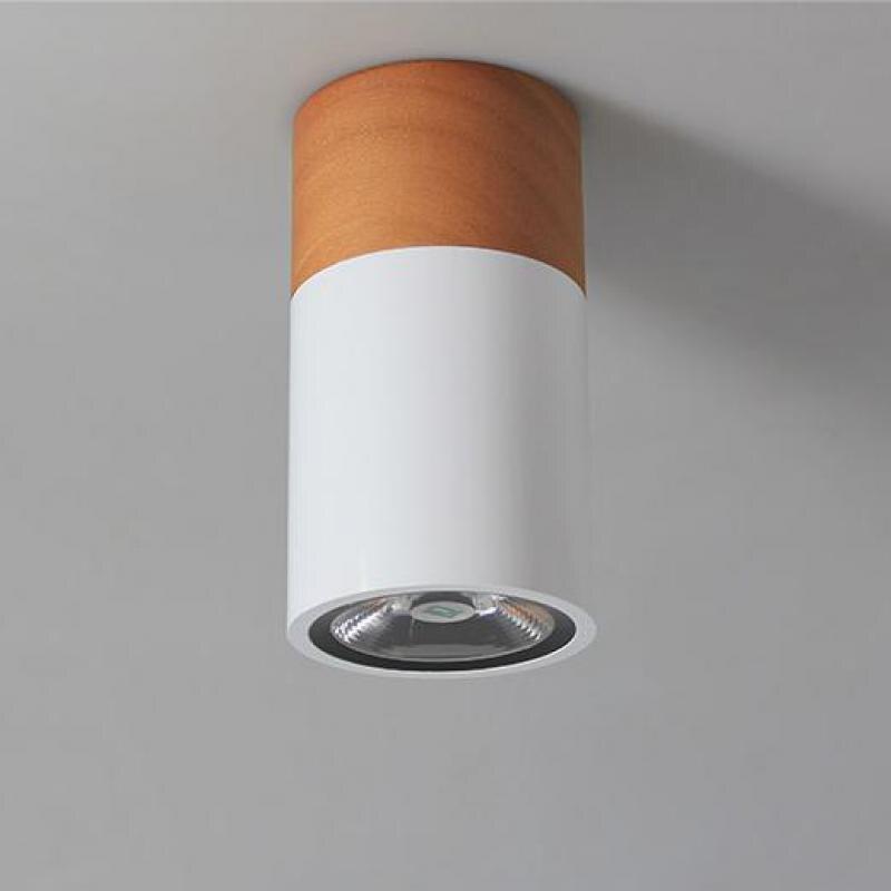 Modern New Led Downlight Chinese Creative shopcase csurface Lighting Lamps cabinet Shot track Lights showcase Wood spot Lamp