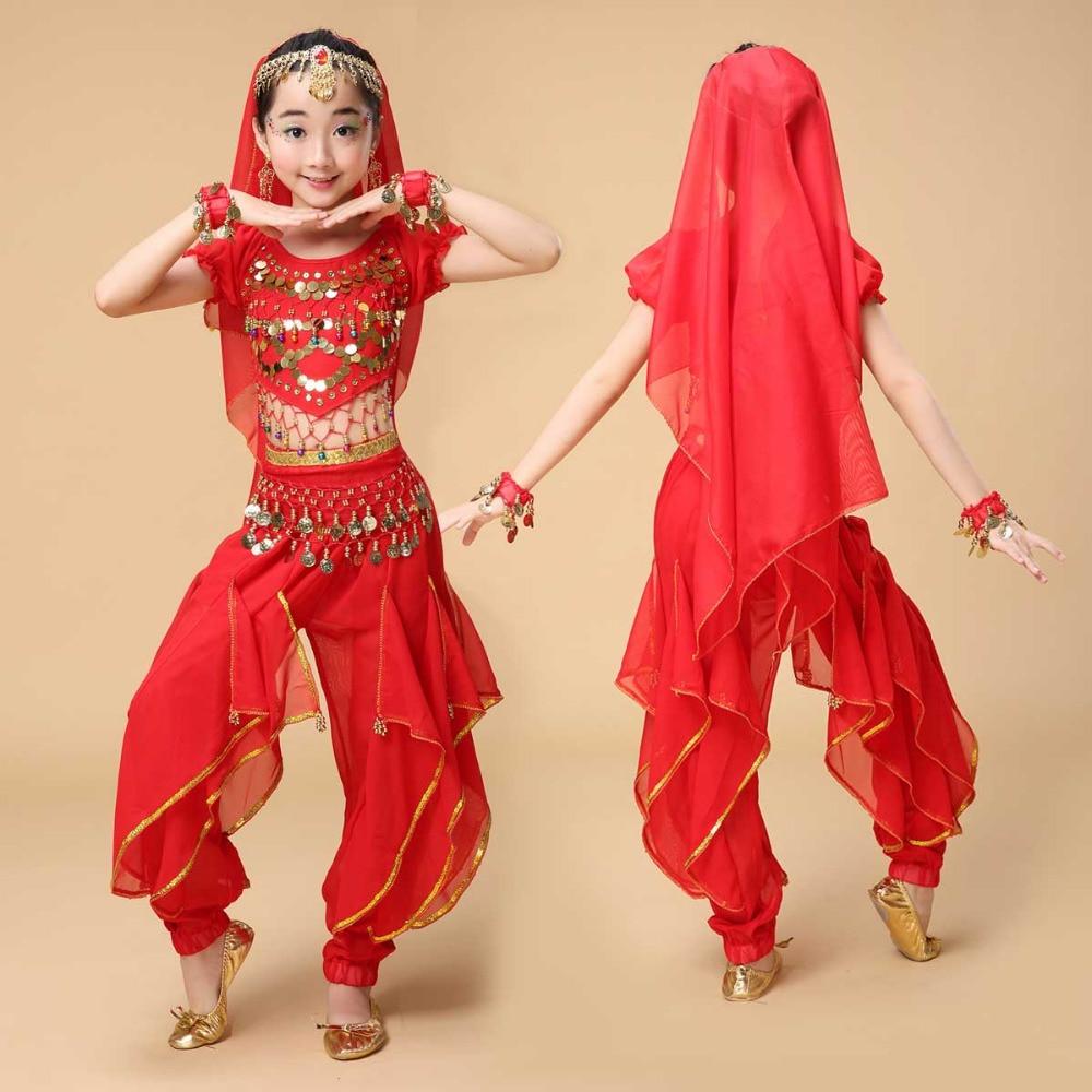 Noviteti i pos. namene ... Plesna odeća ... 32791930768 ... 2 ... 2017 new  Kids Belly Dance Costumes For Girls Suits Sequin Design Ballroom Dancewear Wholesale Children Dancers Top Pants ...