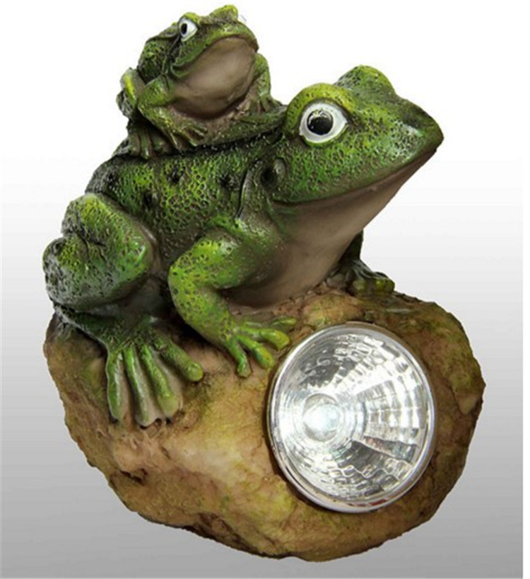 Hand Painted Resin Frog Sculpture Parking Only Decorative Garden Stone With  Solar Light In Solar Lamps From Lights U0026 Lighting On Aliexpress.com |  Alibaba ...