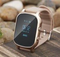Pizen OLED Enfants GSM GPS Tracker montre SIM Enfants montre Smart watch téléphone Intelligent bracelet Enfants Watchs pour iOS Android T58 Q50 Q60