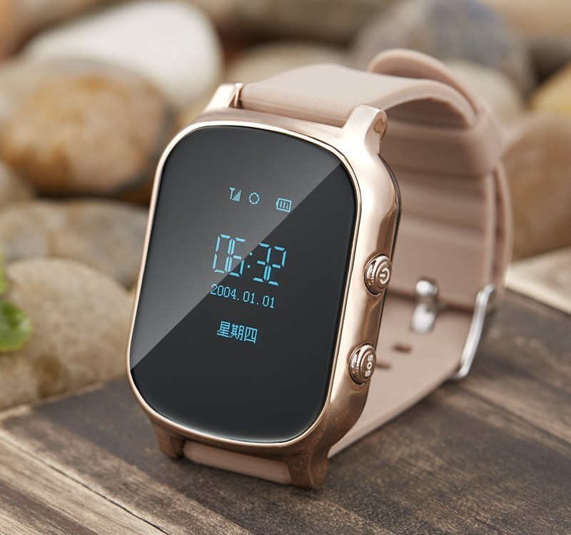 Pizen OLED Kids GSM GPS Tracker watch SIM Children Smart watch Phone Smart bracelet Children Watchs for iOS Android T58 Q50 Q60 original a6 gps tracker watch for kids children smart watch with sos button gsm phone support android