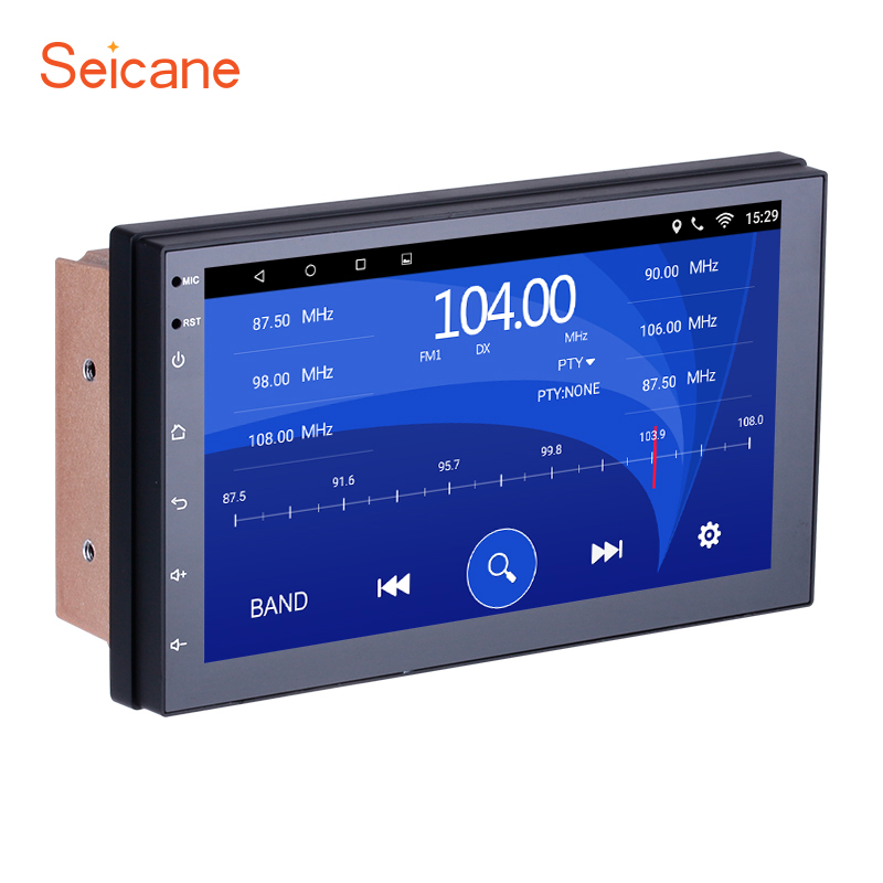 Seicane 2Din Android 6.0 7 Voiture Radio GPS Tochscreen Multimédia Lecteur Pour Universal Toyota Hyundai Kia Nissan VW Suzuki honda