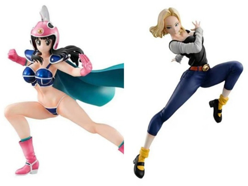 Dragon Ball Z Action Figures Super ChiChi Android <font><b>18</b></font> Lazuli <font><b>Sexy</b></font> <font><b>Girl</b></font> Figurine PVC Toy Anime Dragon Ball Gals DBZ Figura Doll image
