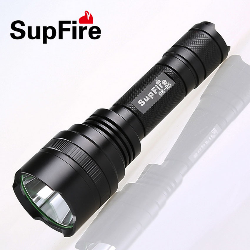 Outdoor Sports LED Flashlight CREE R5 450 Lumens 5W 5 Modes Rechargeable Handy Portable Torch Super Bright Long Shot High Power shipping flashlight blog outdoor flashlight led 160 lumens flashlight p021