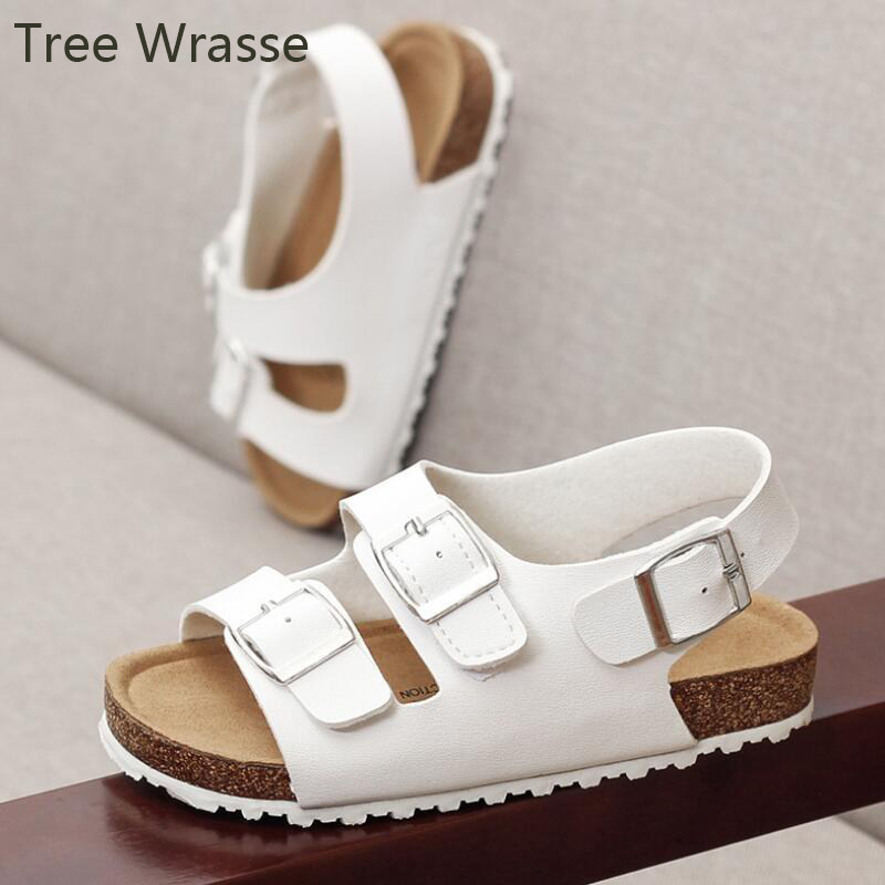 Tree Wrasse Summer Shoes for Girls Boys Beach Sandals baby cork shoes girls  kids sandals New 72239fd908c5