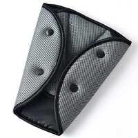 Cinturón de seguridad de ajuste seguro para coche, ajustador resistente de malla transpirable, cinturón de seguridad de coche, dispositivo de ajuste triangular para bebé, protección infantil
