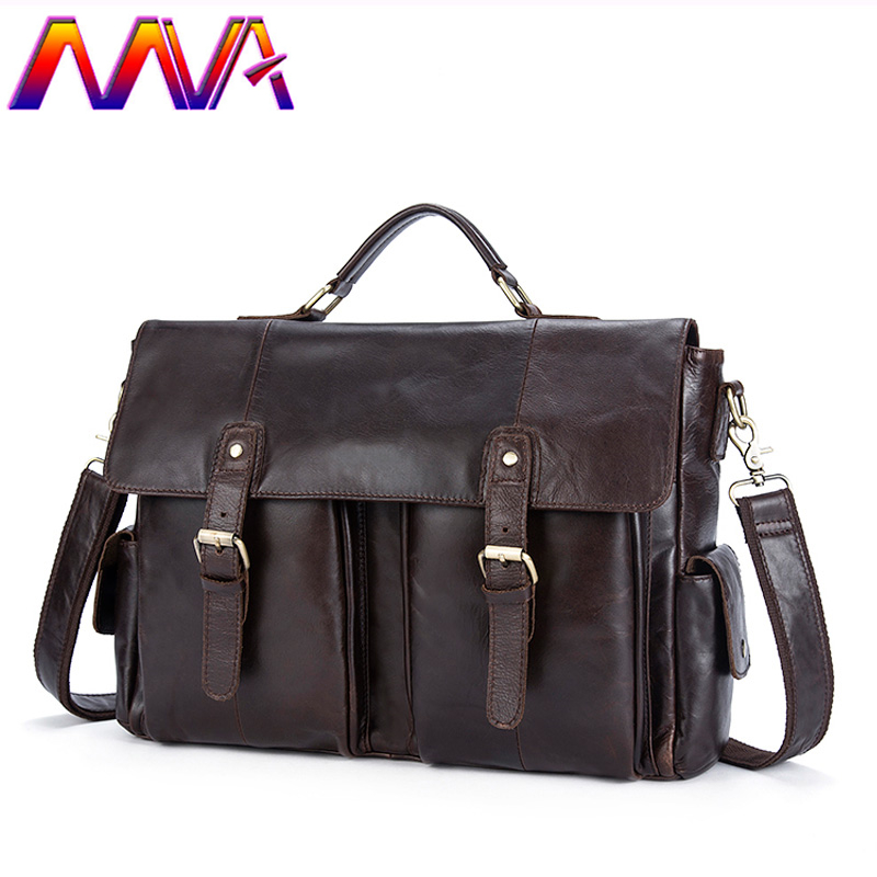 Free Shipping Newly Design Dress Business Men Bag With Quality Cow Leather Men Shoulder Bags Of Fashion Genuine Leather Men Bag