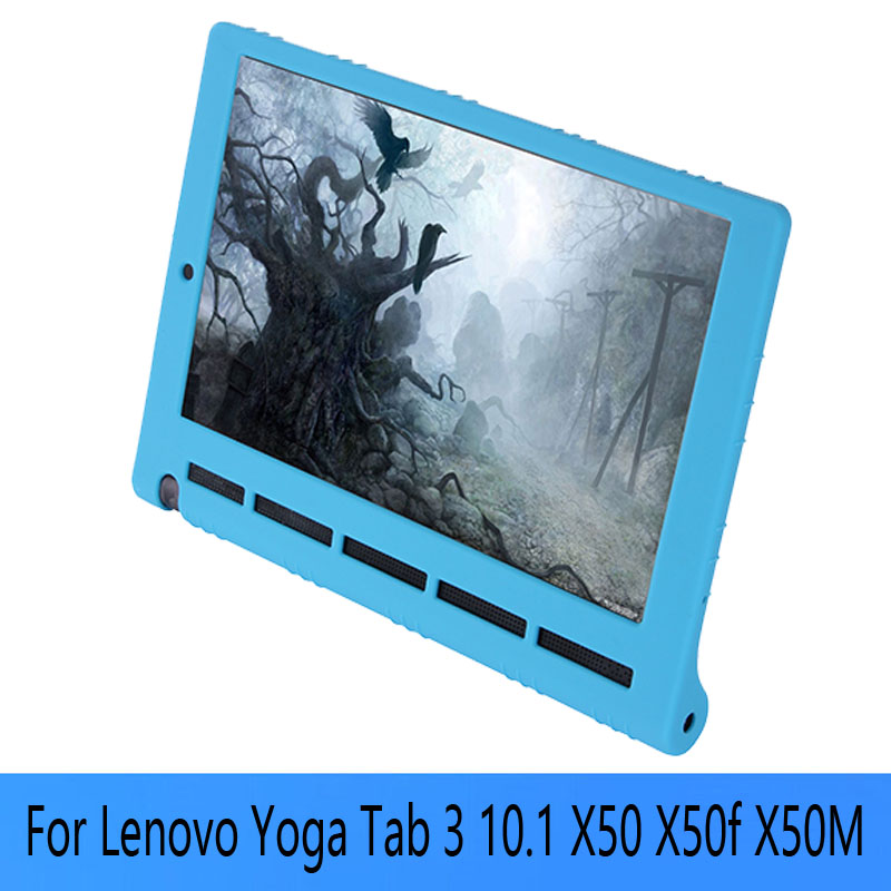 2016 NEW YOGA Tab 3 Pro 10.1 Soft Silicon Case For Lenovo Yoga Tab 3 10.1 X50 X50f X50M tablet cover case