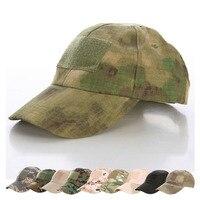 Außen Militärische taktische Hüte ATACS Camouflage Taktische Armee Fan Bionic Camping Wandern Baseball Kappe Fan Outdoor Sport Caps