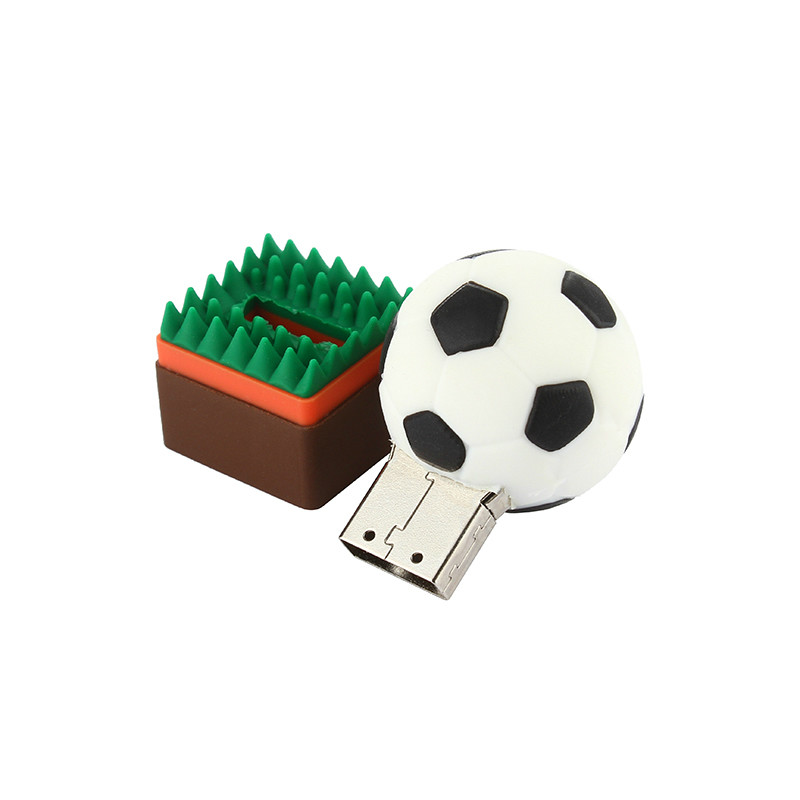 Image 4 - Football Pen Drive 4GB 8GB USB Stick 16GB 32GB Funny Cartoon Usb Flash Drive 64GB 128GB Pendrive High Quality Flash Memory Stick-in USB Flash Drives from Computer & Office