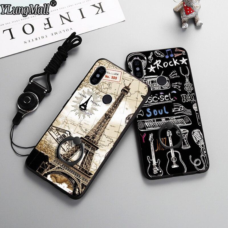 Ring Holder Phone Case for Xiaomi Redmi Note 5 Pro Cover Case for Xiaomi Mi 8 Mi8 SE 6X A2 Lite 6 Mix 2S Redmi 6 Pro 5 Plus Case