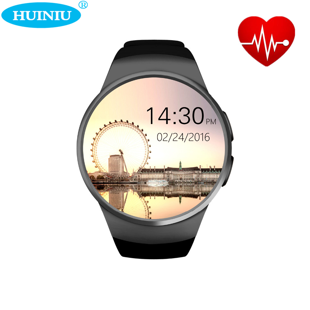 2017 Newest Sport Smart Watch KW18 Heart Rate IPS Screen bluetooth smartwatch Fitness Tracker App For IOS Android phone smart