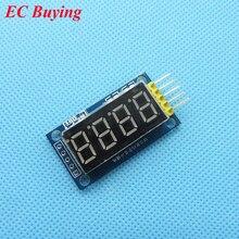 Высокое качество 4 биты 4bit цифровой LED Дисплей модуль красный четыре последовательных для Arduino 595 драйвер