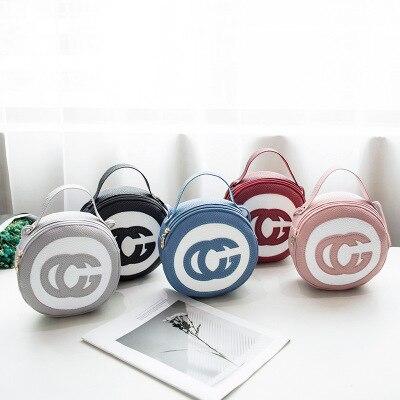Lady Handbags Women Messenger Black Bags PU Leather Circular Zipper Ladies Min Party Diamond Lattice Bag Bolsa Feminina