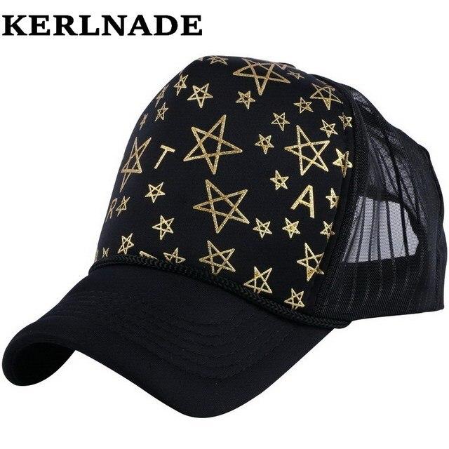 Grosir pria wanita musim panas merek baseball topi topi keren jala Truk  gaya hip hop snapback 5ded8826c0
