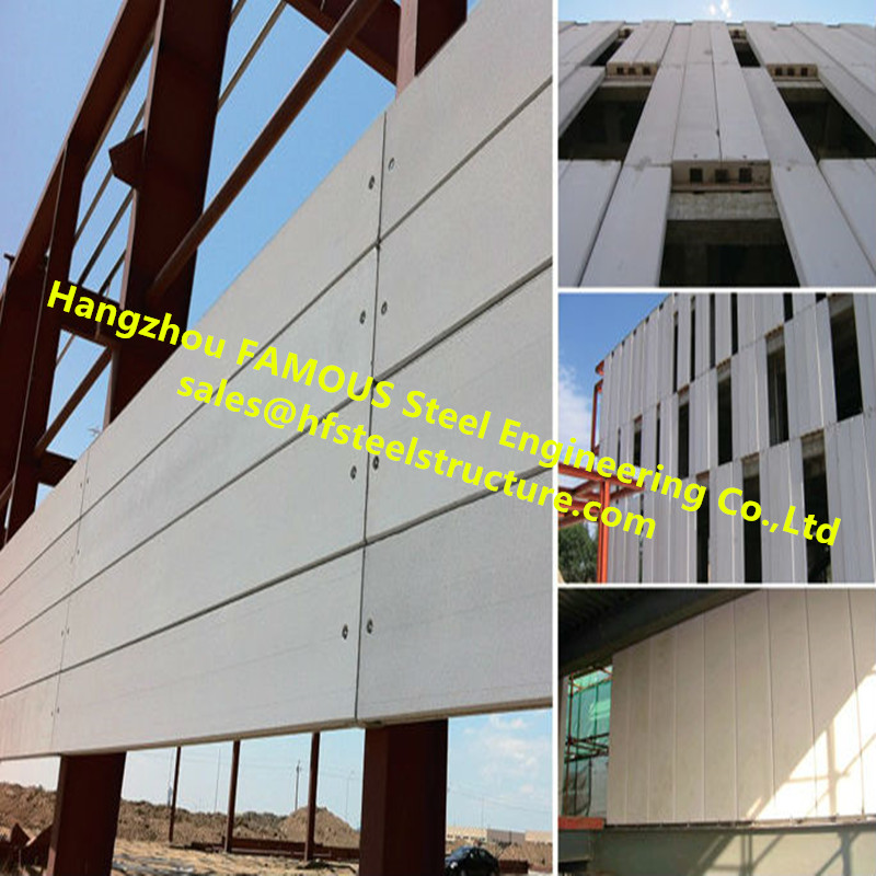 Large Industrial Plant Project By FASEC Prefab-I Panel For Exterior Wall Panel And Partition Blocks