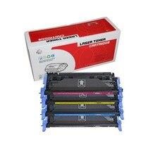 1Pack Q6000A Q6001A 124A Q6002A per cartuccia di toner HP q6000 6000a Laserjet 1600 2600n 2605 2605dn 2605dtn CM1015 CM1017 stampante