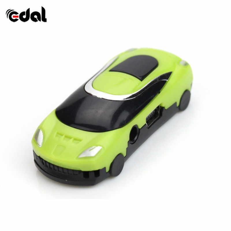 車のスタイルポータブル MP3 ミニ MP3 音楽プレーヤー TF カードスロット 5 色