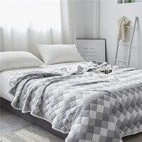 Elegant European Quited Printed Fashion Coverlet/ Bedspread Quilt/Summer Duvet Quilt Washable Suitable for Adults Kids