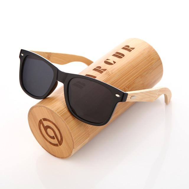 d1c36ea6d6 BARCUR Trending Styles HD Polarized PC Frame Bamboo Sunglasses Wood Sun glasses  Female Men shades Oculos de sol