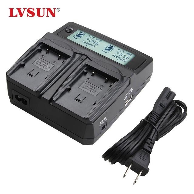 Lvsun np-95 np95 np 95 bateria da câmera carregador duplo para fujifilm fuji f30, f31fd, f31 fd, 3d real w1, x100t, x100, x100s, x-100, x-s1, xs1