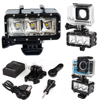 Waterproof LED Flash Video Light Underwater Diving Flash Shoot Lamp For GoPro Hero 5 4 Session