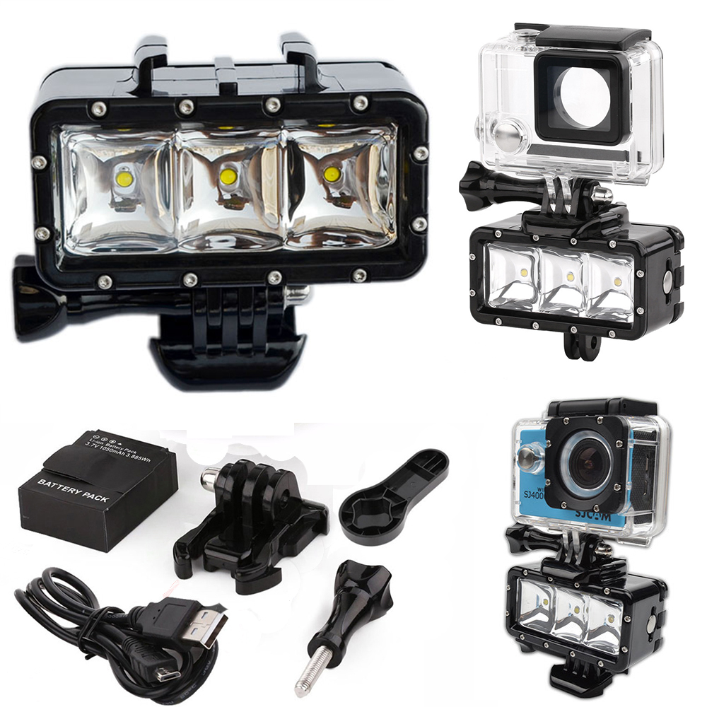Aliexpress.com : Buy Waterproof LED Flash Video Light Underwater ...