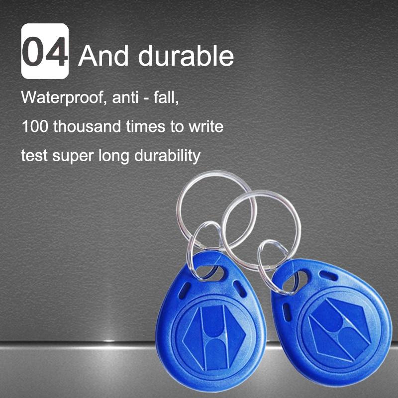 1pcs Friendly 125khz Em4305 Rfid Rewritable Writable Keyfobs Tag Key Ring Copy Clone Card Proximity Token Badge Duplicate Keep You Fit All The Time
