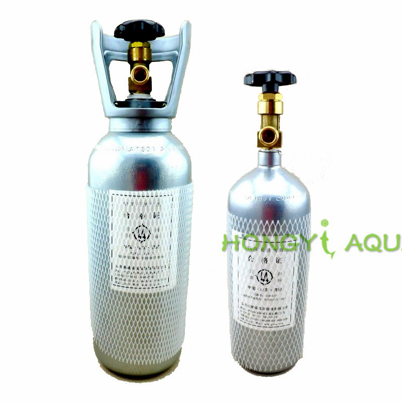 Carbon Dioxide Cylinder CO2 Gas Cylinder Not Portable Aquatic Tank Good Quality Easy To Use 4L