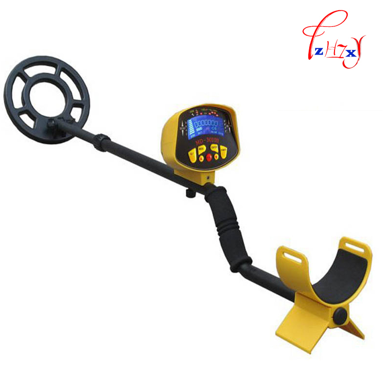 1pcs MD-3010II Metal Detector Gold Digger Treasure Hunter lowest price hot md 3010ii underground metal detector gold digger treasure hunter md3010ii ground metal detector treasure seeker