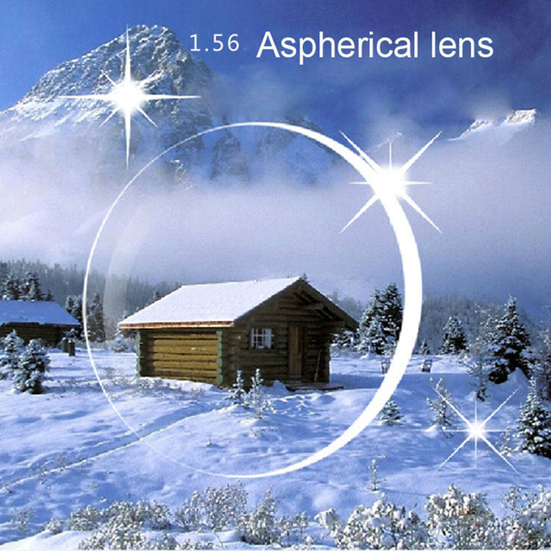 1.56 Lente asférica Lente de hipermetropía y Lente de lectura Lentes recetadas Antifatiga Lente transparente de computadora Lente hipermetropía EV0845