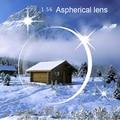 1.56 Lente Asférica lente Hipermetropia & Lentes de Prescrição de lentes Anti-Fadiga óculos de Computador de Leitura lente clara lente hipermetropia EV0845